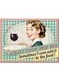 Nostalgic Art Cook With Wine Magnet 6x8 cm Renkli